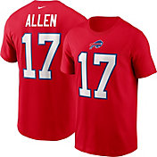 Nike Men's Buffalo Bills Josh Allen #17 University Red T-Shirt