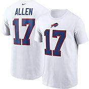 Nike Men's Buffalo Bills Josh Allen #17 White T-Shirt