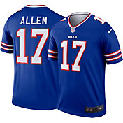 Nike Men's Buffalo Bills Josh Allen #17 Home Royal Legend Jersey