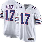 Nike Men's Buffalo Bills Josh Allen #17 White Game Jersey