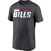 Nike Men's Buffalo Bills Charcoal Heather Legend Sideline T-Shirt