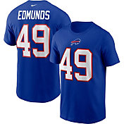 Nike Men's Buffalo Bills  Tremaine Edmunds #49 Legend Blue T-Shirt