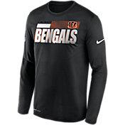 Nike Men's Cincinnati Bengals Sideline Long Sleeve T-Shirt