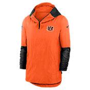 Nike Men's Cincinnati Bengals Sideline Dri-Fit Player Jacket