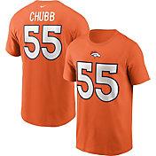 Nike Men's Denver Broncos Legend Bradley Chubs #55 Orange T-Shirt