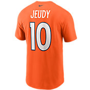 Nike Men's Denver Broncos Jerry Jeudy #10 Logo T-Shirt