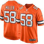 Nike Men's Denver Broncos Von Miller #58 Color Rush Game Jersey