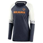 Nike Women's Chicago Bears Logo Long-Sleeve T-Shirt