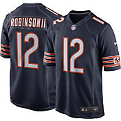 Nike Men's Chicago Bears Allen Robinson #12 Home Navy Game Jersey