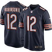Nike Men's Chicago Bears Allen Robinson #12 Navy Game Jersey