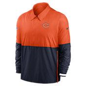 Nike Men's Chicago Bears Sideline Dri-Fit Coach Jacket
