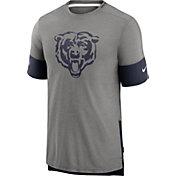 Nike Men's Chicago Bears Grey Sideline Player T-Shirt