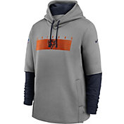 Nike Men's Chicago Bears Sideline Therma-FIT Heavy Hoodie