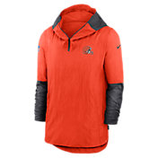 Nike Men's Cleveland Browns Sideline Dri-Fit Player Jacket