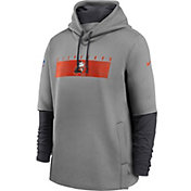 Nike Men's Cleveland Browns Sideline Therma-FIT Heavy Hoodie