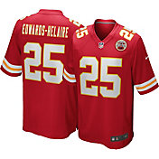 Nike Men's Kansas City Chiefs Clyde Edwards-Helaire #25 Red Game Jersey