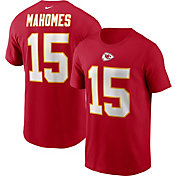 Nike Men's Kansas City Chiefs Legend Patrick Mahomes #15 Red T-Shirt