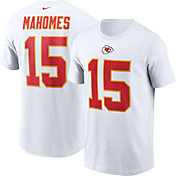 Nike Men's Kansas City Chiefs Patrick Mahomes #15 Legend White T-Shirt