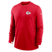 Nike Men's Kansas City Chiefs Sideline Dri-Fit Long Sleeve T-Shirt