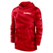 Nike Men's Kansas City Chiefs Sideline Dri-Fit Hoodie