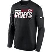 Nike Men's Kansas City Chiefs Sideline Long Sleeve T-Shirt