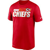 Nike Men's Kansas City Chiefs Legend Performance Red T-Shirt