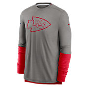 Nike Men's Kansas City Chiefs Sideline Dri-Fit Player Long Sleeve T-Shirt