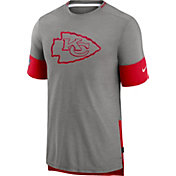 Nike Men's Kansas City Chiefs Grey Sideline Player T-Shirt