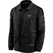 Nike Men's Salute to Service Kansas City Chiefs Black Jacket