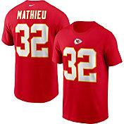 Nike Men's Kansas City Chiefs Tyrann Mathieu #32 Legend Red T-Shirt