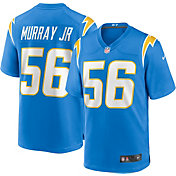 Nike Men's Los Angeles Chargers Kenneth Murray #56 Home Blue Game Jersey
