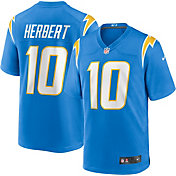 Nike Men's Los Angeles Chargers Justin Herbert #10 Home Blue Game Jersey