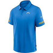 Nike Men's Los Angeles Chargers Coaches Sideline Blue Polo