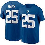 Nike Men's Indianapolis Colts Marlon Mack #25 Gym Blue T-Shirt