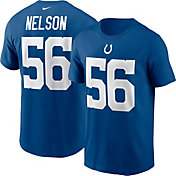 Nike Men's Indianapolis Colts Quenton Nelson #56 Gym Blue T-Shirt