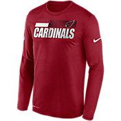 Nike Men's Arizona Cardinals Sideline Coach Long-Sleeve T-Shirt