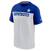 Nike Men's Dallas Cowboys Color Block White/Royal T-Shirt