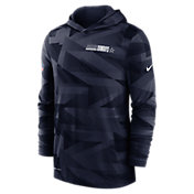 Nike Men's Dallas Cowboys Sideline Hooded Long Sleeve Shirt