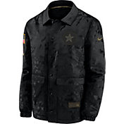 Nike Men's Salute to Service Dallas Cowboys Black Jacket