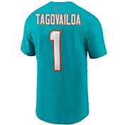Nike Men's Miami Dolphins TuaTagovailoa #1 Logo T-Shirt