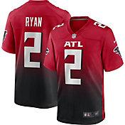 Nike Men's Atlanta Falcons Matt Ryan #2 Red/Black Game Jersey