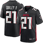 Nike Men's Atlanta Falcons Todd Gurley Home Black Game Jersey