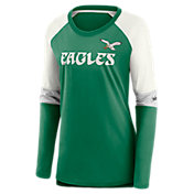 Nike Women's Philadelphia Eagles Logo Long-Sleeve T-Shirt