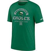 Nike Men's Philadelphia Eagles Pine Green Rewind Historic Tri-Blend T-Shirt