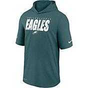 Nike Men's Philadelphia Eagles Sport Teal Short Sleeve Dri-FIT Training Hoodie
