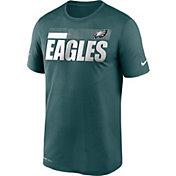 Nike Men's Philadelphia Eagles Legend Performance Green T-Shirt