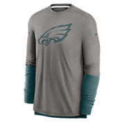 Nike Men's Philadelphia Eagles Sideline Dri-Fit Player Long Sleeve T-Shirt
