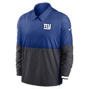 Nike Men's New York Giants Sideline Dri-Fit Coach Jacket