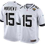 Nike Men's Jacksonville Jaguars Gardner Minshew II #15 White Game Jersey