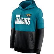 Nike Men's Jacksonville Jaguars Sideline Lock Up Pullover Hoodie